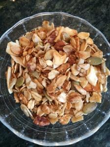 finished granola