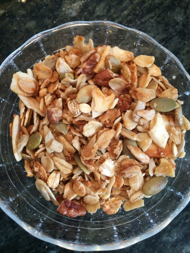 finished granola